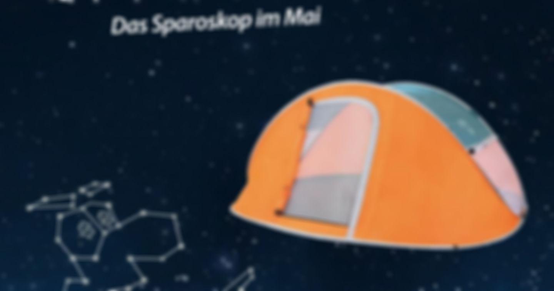 Gewinne 5x1 Popupzelt von Möbelix!
