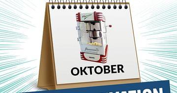 Gewinne 3x1 Popcornmaker von Möbelix!