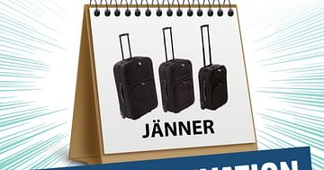 Gewinne 3x1 Reisekofferset von Möbelix!