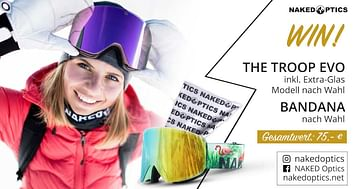 "Gewinne Skibrille ""The TROOP EVO"""