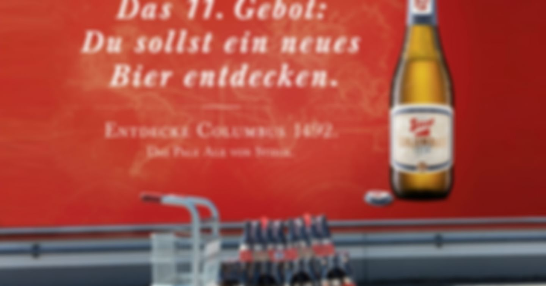 2x10 Trays Stiegl-Columbus 1492