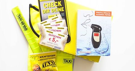 3x Goodie Bags von Taxi 40100