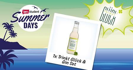 1x Trinkt Glück & Gin Set