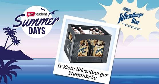 1x Kiste Wieselburger Stammbräu
