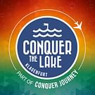 Conquer the Lake Logo