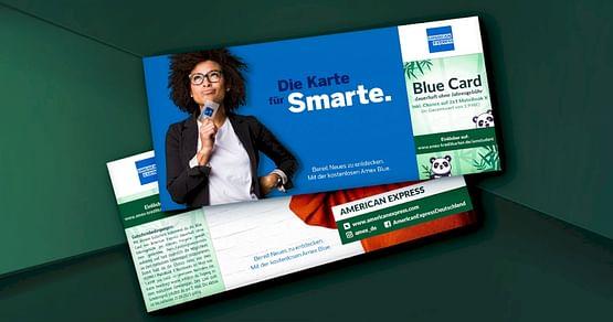 Top-Kreditkarte für Studis und/oder Berufseinsteiger gefällig? Mit demAmerican ExpressStudentenrabatt holst du dir die Blue Card inkl.35€Startguthabendauerhaft ohne Jahresgebührund sicherst dir on top Chancen auf ein HUAWEI MateBook X!