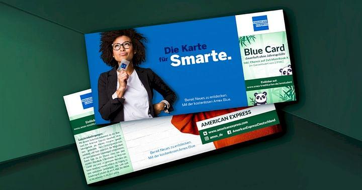 Gratis Blue Card +35€ Guthaben