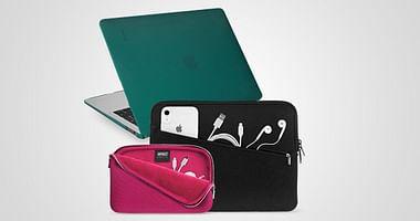 Ob Schutzhülle, Tasche oder Displayschutz - Artwizz bietet technische Accessoires in Hülle und Fülle. Mit unserem Artwizz Studentenrabatt sicherst du dir jetzt 50% Nachlass auf MacBook Zubehör!