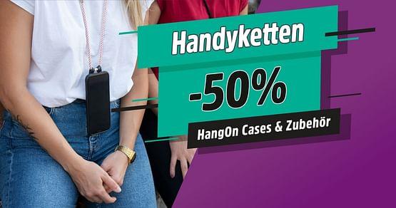 -50% auf Handyketten & Zubehör