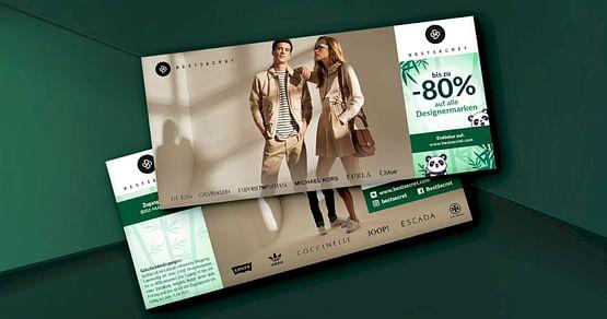 Für Fashionistas & Trendsetter! Mit unserem BestSecret Studentenrabatterhältst du Zugang zur exklusiven Fashion-Plattform BestSecret und sicherst dir so bis zu 80% Nachlass auf echte Designerstücke.