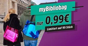Transparent, schick, myBIBLIOBAG!