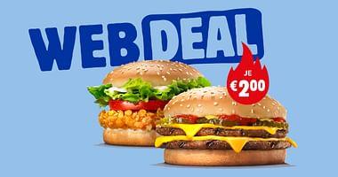 Nie wieder hangry! Mit unserem Burger King Studentenrabattgönnst du dir den berühmten CRISPY CHICKENoder den Klassiker DOUBLE CHEESEBURGERjeweils um nur 2€.Lass es dir schmecken!