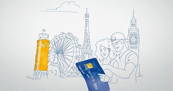 Die Visa oder Mastercard Studentenkarte von card complete ist der ideale Begleiter für Studis! Mit unseremcard complete Gutscheinerhältst Du aktuell25€ bei Erstausstellung Deiner Kreditkarte. Die Karte ist zudem 1 Jahr lang gratis*!