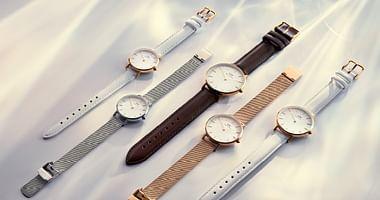 Die Uhren vonDaniel Wellingtonsind die wohl schönste Art der Zeitdarstellung:Mit unserem Daniel Wellington Studentenrabatt sparst du 15% auf alles!