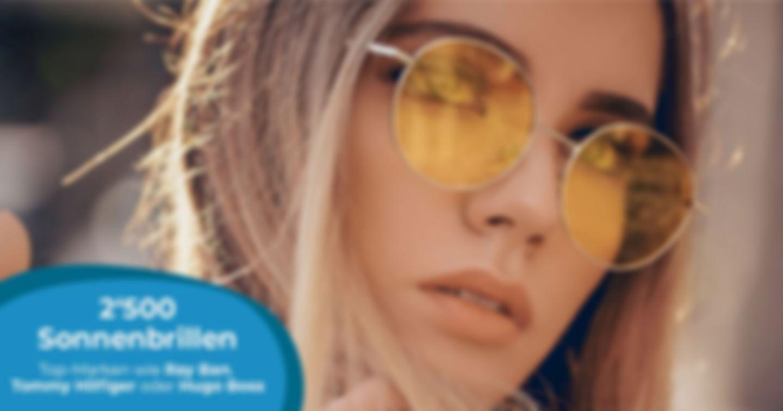 12% Nachlass auf Sonnenbrillen!