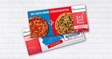 Hangry? Dann lass dir von Domino's berühmter Pizza den Tag retten. Mit unserem Domino