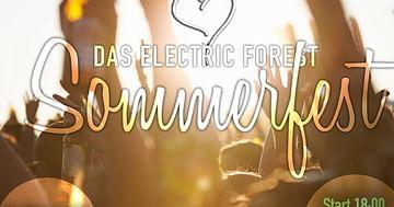 Hol dir deinen gratis Spritzer beim Electric Forest Sommerfest!