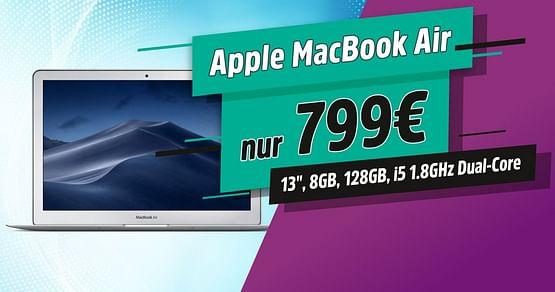 MacBook Air um nur 799€