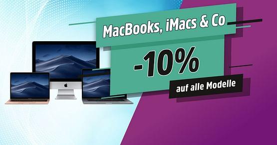10% Rabatt auf alle MacBooks