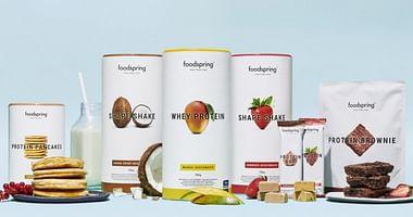 Hol dir Power für dein Training! Mit unserem foodspring® Studentenrabatt erhältst du zu deiner Bestellung der beliebten Fitness Food Produkte ab einem Mindestbestellwert von 30€ ein kostenfreies Goodie-Paket on top!