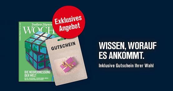 Frankfurter Allgemeine Zeitung Gutschein Foto 1