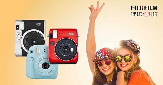 Das Studium ist die beste Zeit deines Lebens und Fujifilm hilft dir dabei, alle wichtigen Momente festzuhalten: Mit unserem TECHNIKdirekt Studentenrabatt bekommst du 5% Nachlass auf alle Fujifilm Instax Sofortbild-Kameras!
