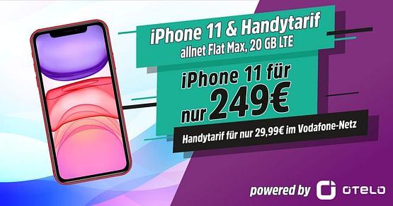 iPhone 11 64 GB für nur 249€