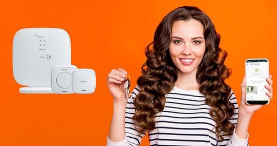 Mach dein Zuhause smarter, z.B. mit dem Gigaset Smart Speaker inkl. Cloud-basiertem Sprachdienst Amazon Alexa. Dank unseresGigasetStudentenrabatts bekommst du25% Nachlass auf diesen und viele andere Smart Devices.