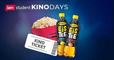 2020 wird genial! Gemeinsam mit Megaplex & Metropol Kinos gibts bei uns für alle iamstudent User das ultimative Kinopackage zum absoluten Studentenpreis: 2D Kinoticket, kleine Popcorn & Rauch Eistee zum unschlagbaren Preis von nur 7€!