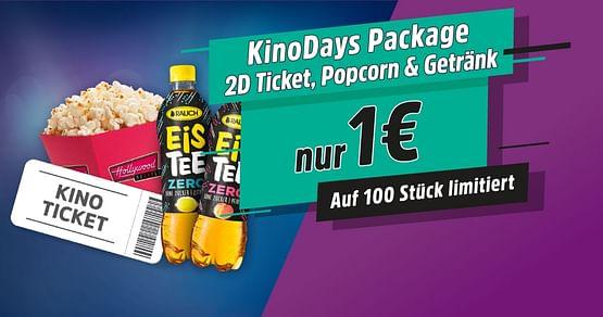KinoDays Package für 1€!