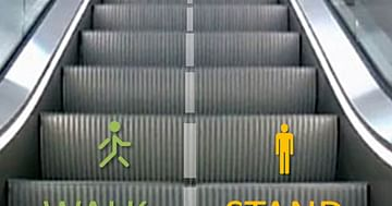 Rolltreppen-Fahrsicherheitstraining