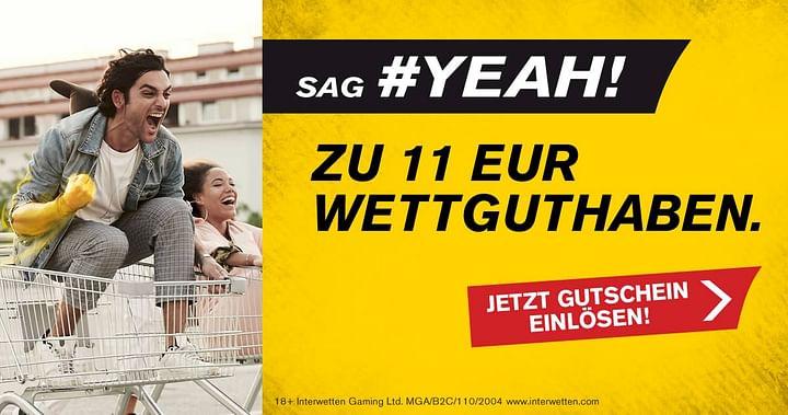 11€ Wettguthaben geschenkt