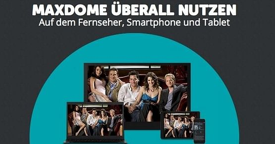 Mit unserem Gutschein von maxdome heißt es ab sofort: Lehrbuch weg - Film ab!Exklusiv in Österreich und nur bei uns erhältlich, schaust du jetzt die besten Filme und Serien für unschlagbare 4,99€ pro Monat statt 7,99€.