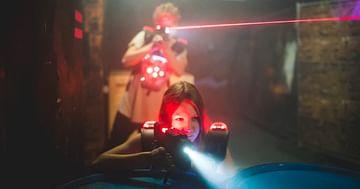 Was für ein Tag für Lasertag!