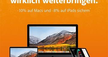 Spare 10% auf deinen neuen Mac & Zubehör!