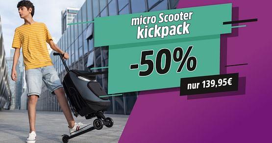 -50% auf den micro Scooter
