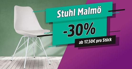Stuhl Malmö um 30% günstiger