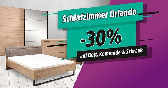 -30% auf Schlafzimmer Orlando