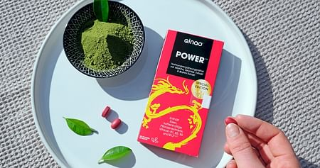 Qinao® POWER ist dein Brainfood für mehr Energie und erhöhte Konzentration. Als iamstudent PLUS Mitglied sparst du ab jetzt ganze 30% (statt 20%)auf die natürlichen Wachmacher vonQinao®.