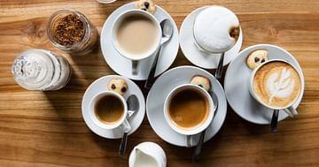 Due caffè, per favore!