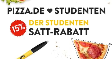 Pizza.De Studentenrabatt