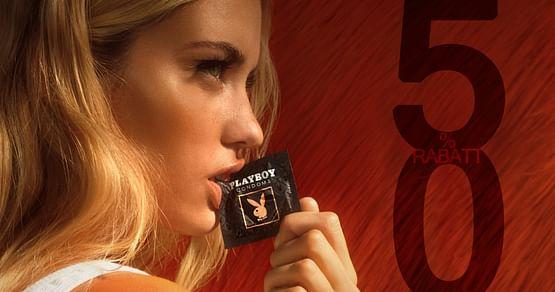 Playboy Condoms sorgen für stilvollen Schutz und maximalen Spaß. Aktuell sparst du mit Studentenrabatt 50% auf alle Playboy Kondome!