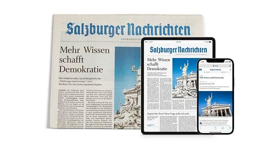 Wissen macht wach! Mit unserem Salzburger Nachrichten Studentenrabattholst du dir das U30 Jahresabo der SN(Print & Digital) zum Vorzugspreis von nur 9,90€monatlich (statt 41€). On top gibt