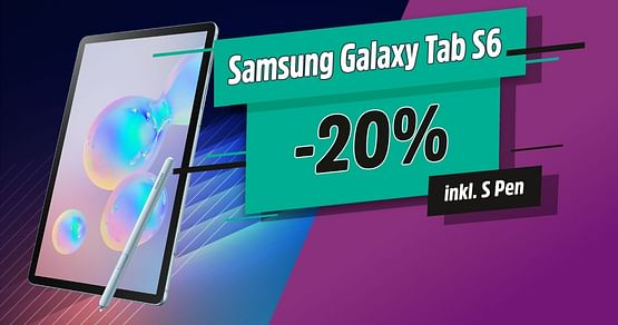 -20% auf Galaxy Tab S6