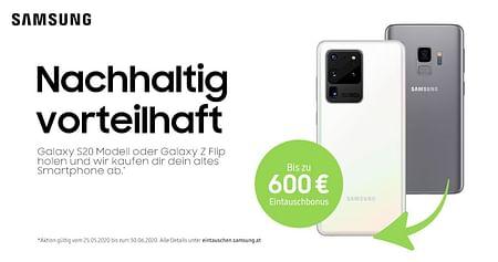Das exklusive iamstudent.Upgrade für den Samsung Student Shop: Sichere dir deinen 10€ Wertgutschein, zusätzlich einlösbar auf die bereits vergünstigten Samsung Produkte!