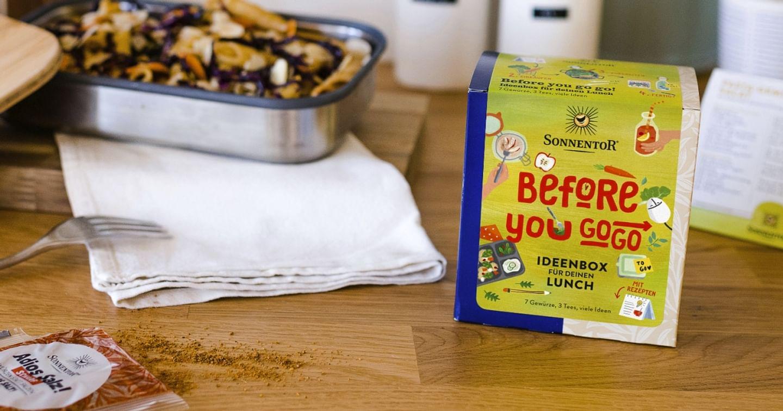 Gratis Bio Tees & Gewürze von SONNENTOR!