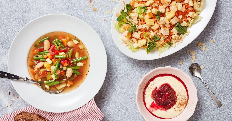 Diese Suppen löffeln wir gerne aus.