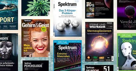 Das MagazinSpektrum der Wissenschaftsteht für exzellente Artikel rund um Naturwissenschaft, Forschung, Technologie & Co.Mit dem Spektrum der Wissenschaft Studentenrabatt erhältst du jetzt -33% auf die digitalen Ausgaben!