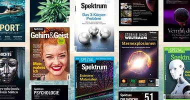 Das MagazinSpektrum der Wissenschaftsteht für ausgezeichnete Artikel rund um Naturwissenschaft, Forschung, Technologie & Co.Mit unserem Spektrum der Wissenschaft Gutschein erhältst du 33% Studentenrabatt!