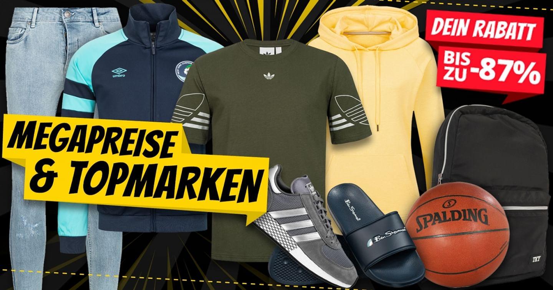 Von Kopf bis Fuß sportlich gekleidet!